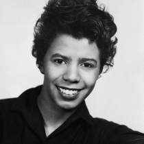 Playwright Lorraine Hansberry, author of A Raisin in the Sun