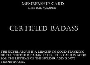 certifiedbadass